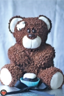 Mr. Bear Cake from Much a Munch